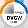 DVGW FW Zertifizierung 601