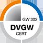 DVGW Zertifizierung GW 302
