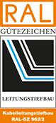 Kabelleitungstiefbau RAL-GZ 962/2