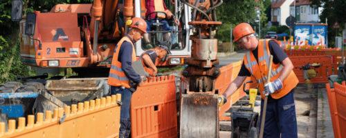 Rohrleitungsbau GW 301