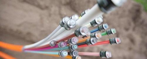 Telekommunikation Glasfaser